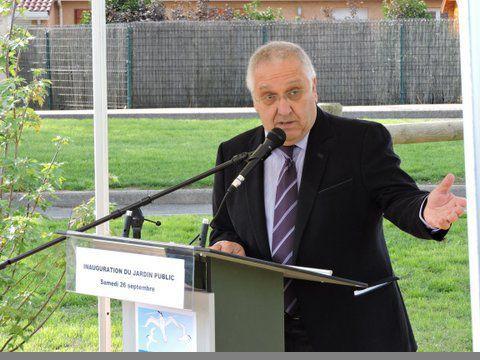 Inauguration jardin public le 26 septembre 2015 for Jardin public 78